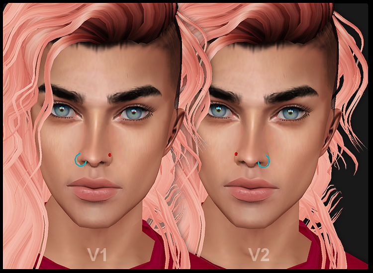 Derivable Nose Ring Stud Male Bunneh Wares